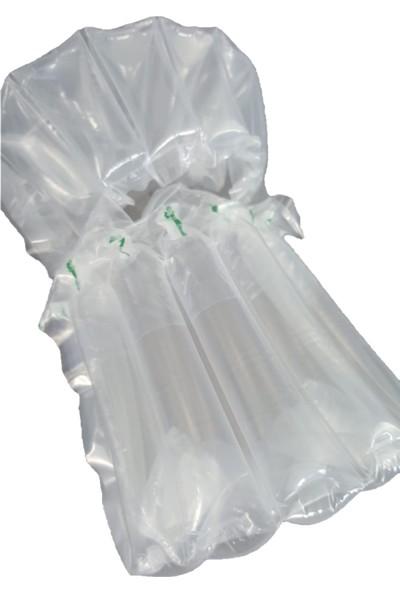 Propak Airbag Çanta Küçük Kavanoz Kanallı Şişirilen Kargo Torbası 50'li 21 x 23 cm