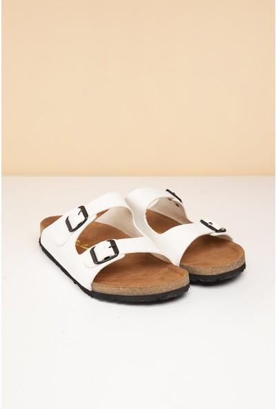 Pierre Cardin Erkek Terlik Pc-5041-16645629 19-Beyaz