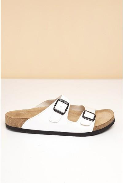 Pierre Cardin Erkek Terlik Pc-5065-16645629 19-Beyaz