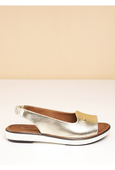 Pierre Cardin Kadın Sandalet Pc-2403-6080254 186-Altin