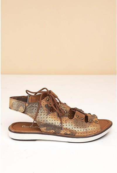 Pierre Cardin Kadın Sandalet Pc-2408-16779579 06-Taba-Kamf