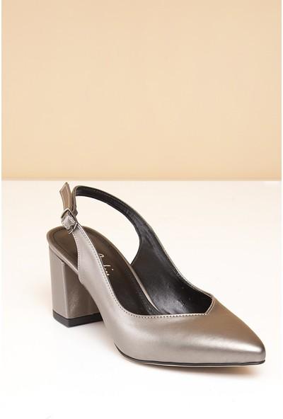 Pierre Cardin Kadın Ayakkabı Pc-50173-13619151 591-Platin