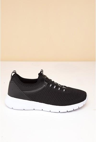 Pierre Cardin Erkek Ayakkabı Pc-30026-3945267 01-Siyah-Beyaz