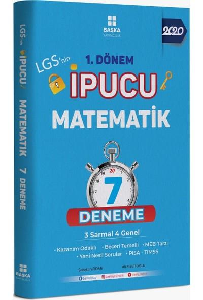 Başka Yayınları 8.Sınıf 1.Dönem Ipucu Deneme Türkçe Matematik Fen Bilimleri - 3 Kitap