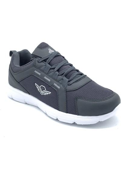 Conpax POLO1988 718 Füme-Beyaz Erkek Günlük Ayakkabı