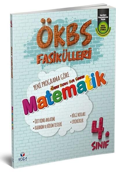 Koza Yayınları ÖKBS (Özet Konu Bol Soru) Fasikülleri Matematik 4