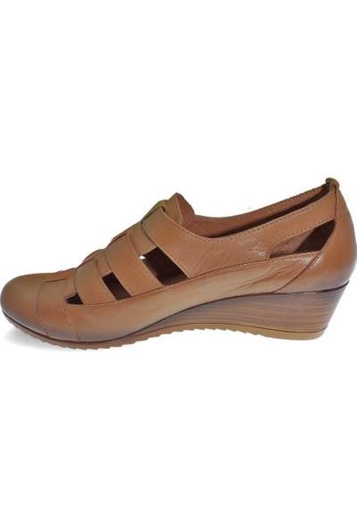 Mammamia D20YA-925 Deri Kadın Sandalet