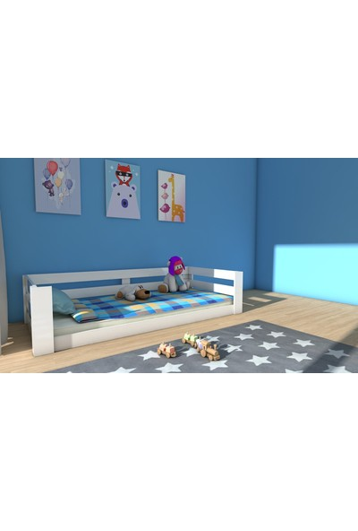Etmermo Mdf Montessori Karyola Beyaz Eymo 5