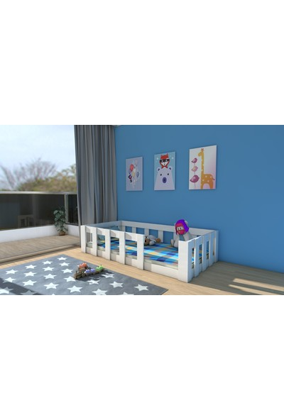 Etmermo Montessori Karyola Beyaz Eymo 3