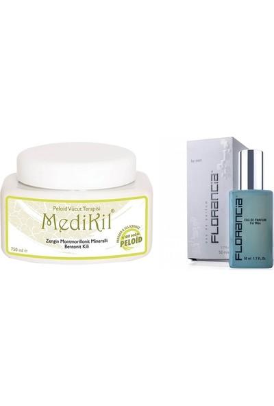 Medikil Vücut Terapisi 750ML ve Florancia Erkek Parfüm 50ML