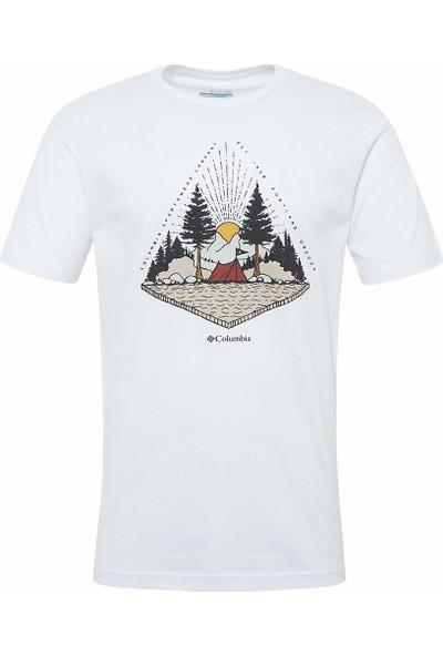 Columbia Spear Landscape Ss Tee CS0067 Kısa Kollu Erkek Tişörtü