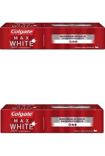 Colgate Max White One Beyazlatıcı Diş Macunu 75 ml 2 Adet