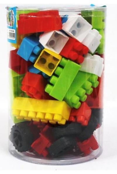 Deniz Plastik Asetat Kutuda Blok Oyuncak - 72 Parça