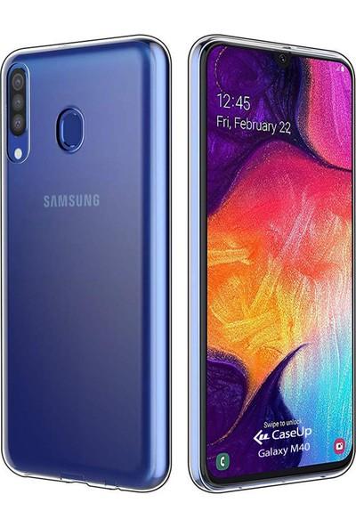 CaseUp Samsung Galaxy M40 İnce Şeffaf Silikon Kılıf