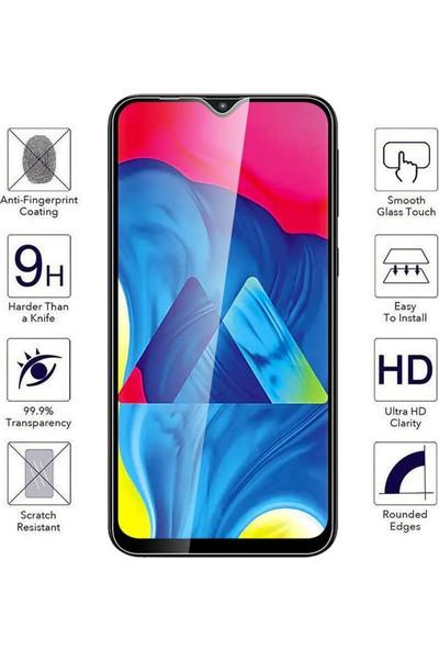 CaseUp Samsung Galaxy M10S Caseup Tam Kapatan Ekran Koruyucu Siyah