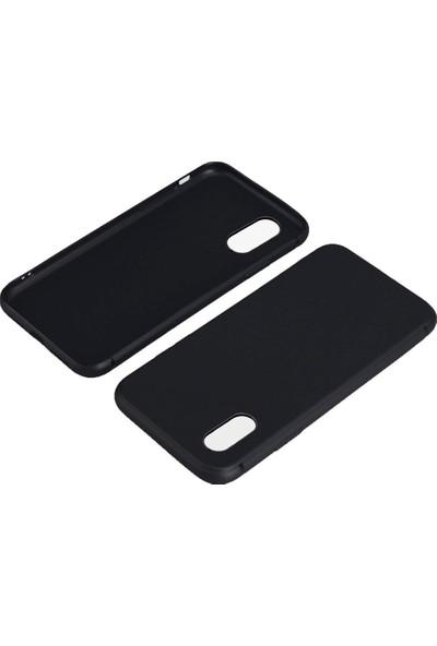 CaseUp Samsung Galaxy M20 Matte Surface Siyah