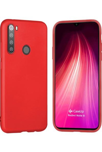 CaseUp Xiaomi Redmi Note 8 Matte Surface Kırmızı