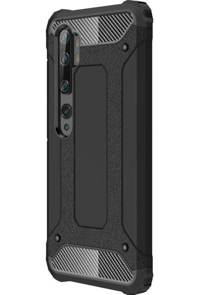 CaseUp Xiaomi Mi Note 10 Tank Siyah