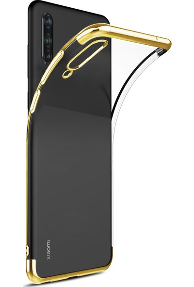 CaseUp Xiaomi Mi 9 Lite Laser Glow Gold