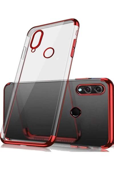 CaseUp Xiaomi Redmi Note 7 Pro Laser Glow Kırmızı