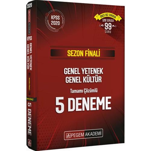 Sezon Finali GYGK Tamamı Çözümlü 5 Deneme