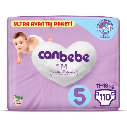 Canbebe Ultra Avantaj No 5 Junior 110 Adet