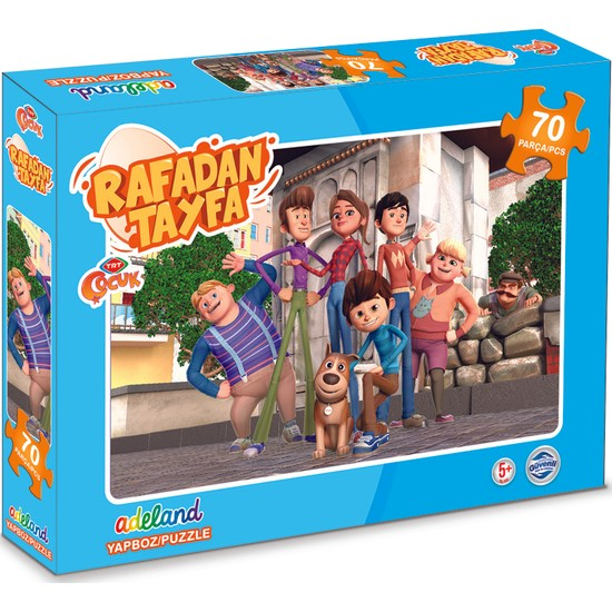 TRT Adeland Rafadan Tayfa Kutulu Puzzle 70'li