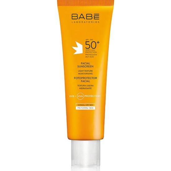 Babe Yüz İçin Güneş Koruyucu Krem SPF 50+ Light Texture pH 7.5