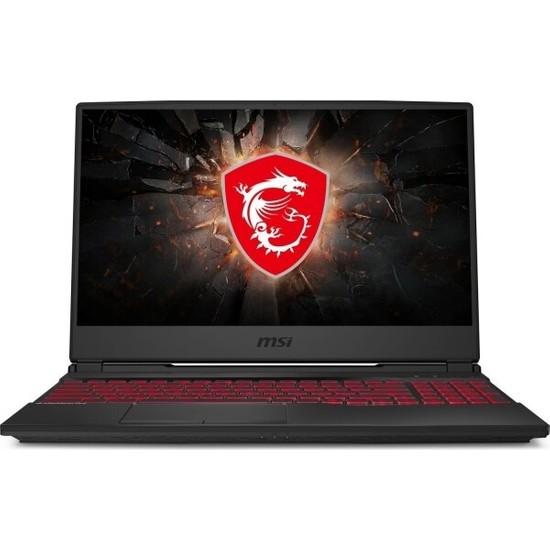 "MSI GL65 9SC-042TR Intel Core i7 9750H 8GB 256GB SSD GTX1650 Windows 10 Home 15.6"" FHD Taşınabilir Bilgisayar"