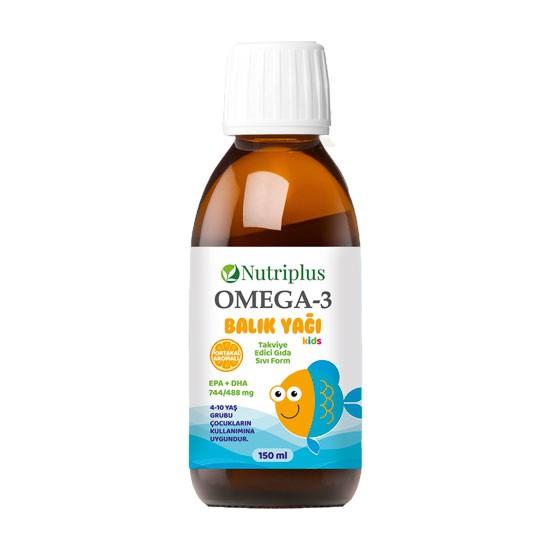 Farmasi Nutriplus Omega3 Balık Yağı Kids, 150 ml