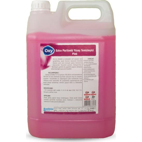 Oxy Extra Parfümlü Yüzey Temizleyici Pink 5 lt