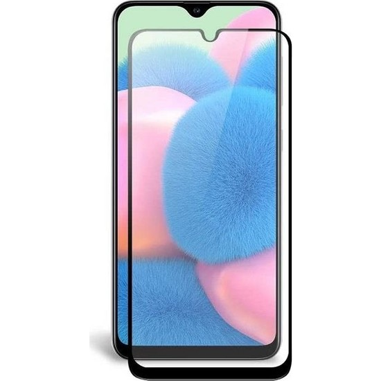 Engo Samsung Galaxy A30S 5D Temperli 9H Tam Kaplama Ekran Koruyucu