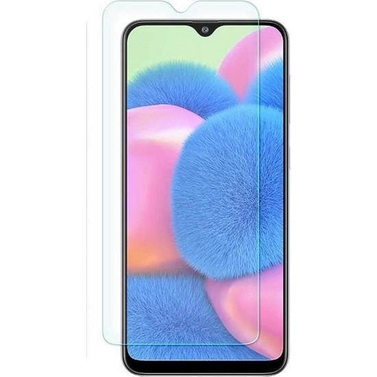 Engo Samsung Galaxy A30S 2.5D 9H Temperli Şeffaf Ekran Koruyucu
