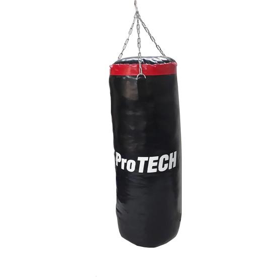 Protech Boks Kum Torbası Siyah 70X25CM Zincir & Askı Aparatlı