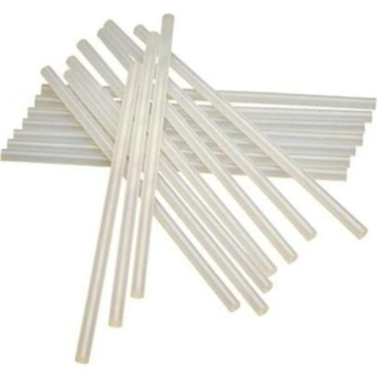 Oyunlarla Fen Ince Mum Çubuk Sıcak Silikon 7 mm x 30 cm 20'li