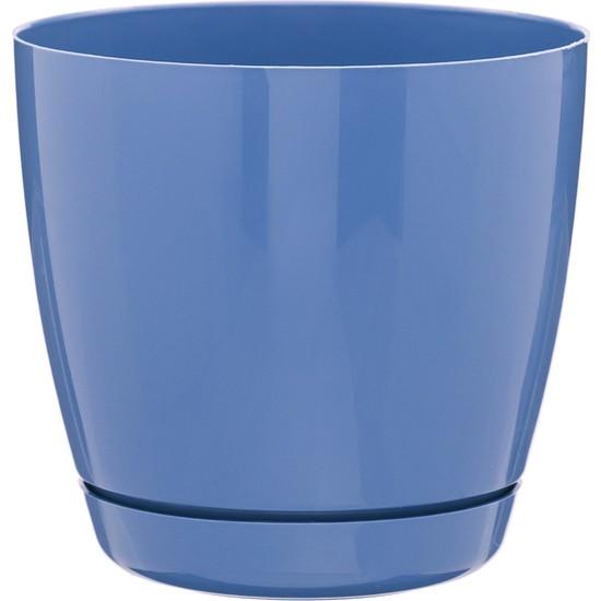 Favilla Floris Saksı Tabaklı 11 cm 730 Ml Mavi