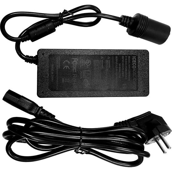 Iceco YCD80W 220V/12V 6Ah Dönüştürücü Adaptör
