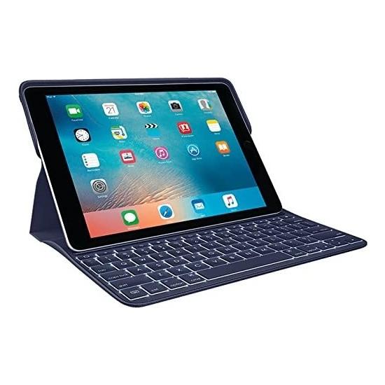 "Logitech Create 9.7"" iPad Pro Klavyeli Kılıf - Lacivert (Nordic, Q) 920-008127"