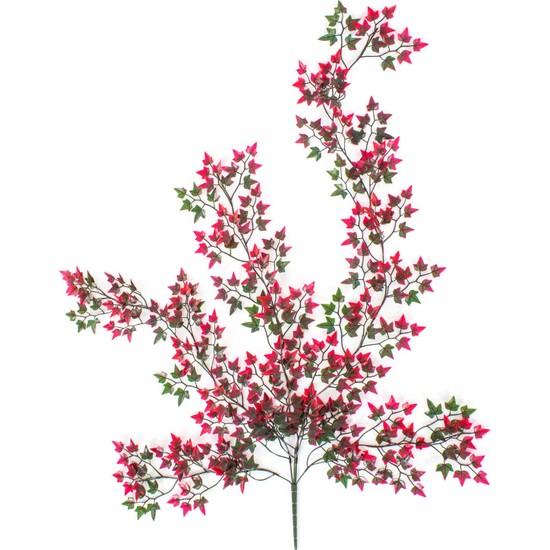 Euro Flora Yapay Sarmaşık Hedera Kırmızı Yeşil 100 cm