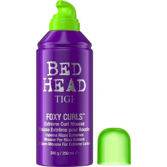Tigi Bed Head Foxy Curls Sıra Dışı Bukleler İçin Şekillendirici Köpük 250 ml
