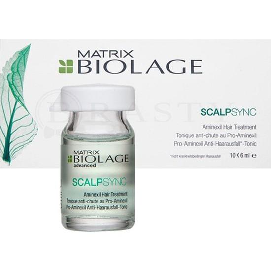 Matrix Biolage Scalpsync Aminexil Tonic Serum 10 x 6 ml