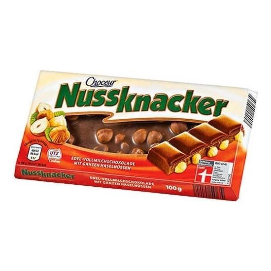 Nussknacker Sütlü Fındıklı Çikolata 100 gr x 5'li