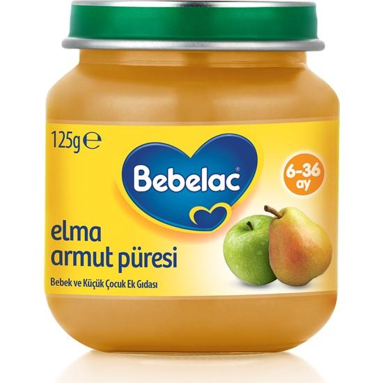 Bebelac Elma Armut Püreli Kavanoz Maması 125 gr
