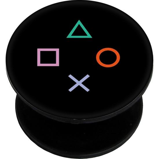 Bsb Gamer Popsoket Telefon Parmak Tutucu Popsocket Selfi Aparatı PS345