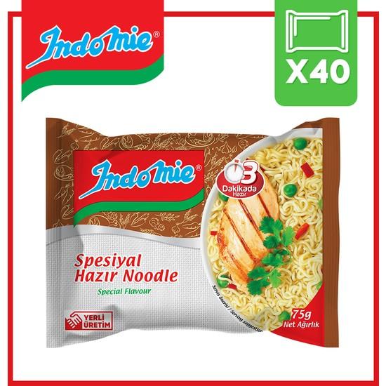 İndomie 40'lı Spesyal Hazır Noodle Koli