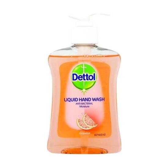 Dettol Likid Antibakteriyel Hijyenik Nemlendirici El Yıkama 250 ml Greyfut