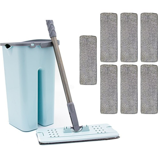 Zambak +7 Yedek Mop ve Zambak Tablet Mop Seti Temizlik Seti