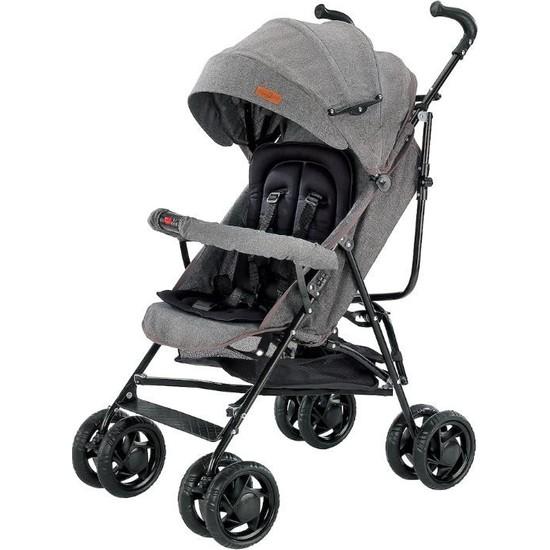 Baby2go 2012 Eko Baston Bebek Arabası - Gri