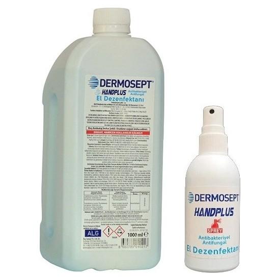 Dermosept Handplus El ve Cilt Dezenfektanı 1000 ml x 100 ml