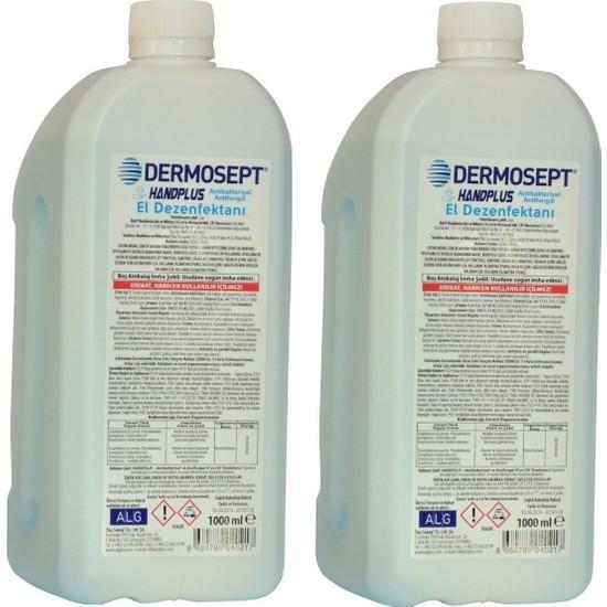 Dermosept Handplus El ve Cilt Dezenfektanı 2x1000 ml